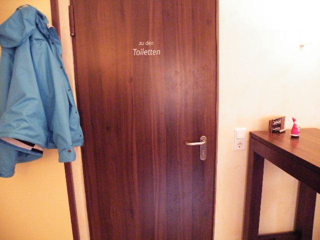 vorraum vor toiletten